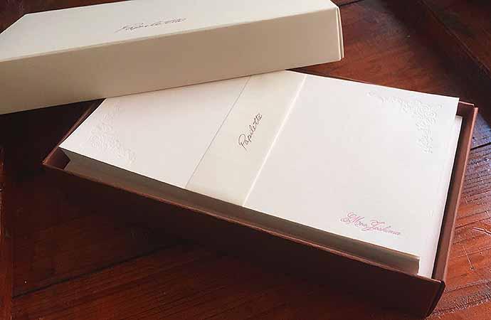 プレゼント,退職,一筆箋,ピンク,バラ,印刷